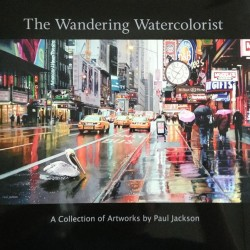 The Wandering Watercolorist book cover