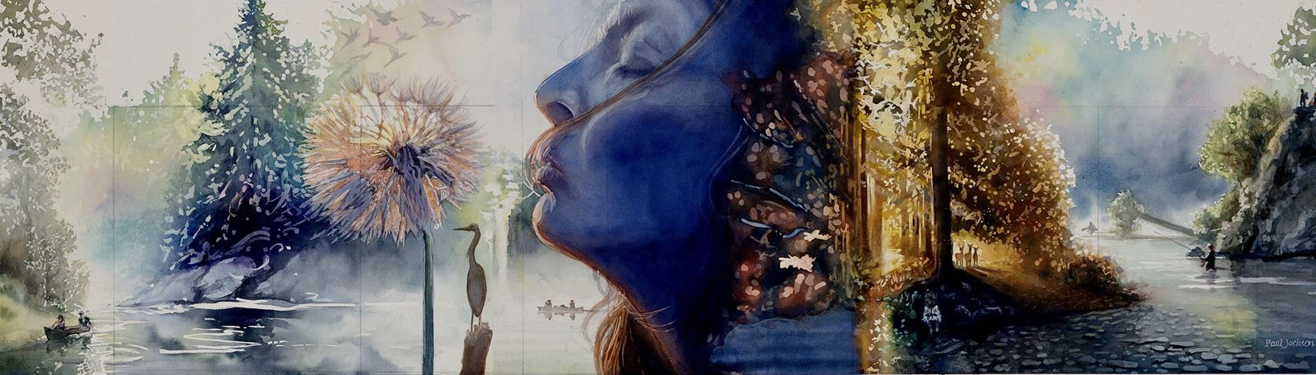 River Dreams by Paul Jackson